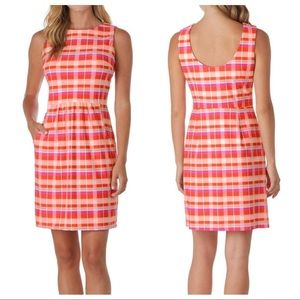 NWT Jude Connally Mary Pat Dress In Festival Plaid